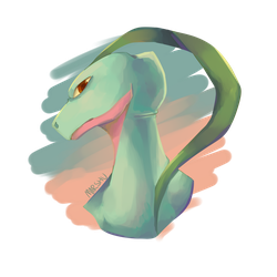 Grovyle by MarshuKitty