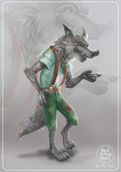 THE WOLF - CHARACTER DESIGN by HisakiChan