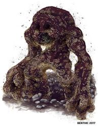 Graveworm Golem by benthic