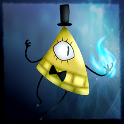 Bill Cipher by PuddingzWolf