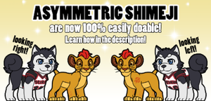 Asymmetric Shimeji are now easy to do! [v1.0.8] by Cachomon