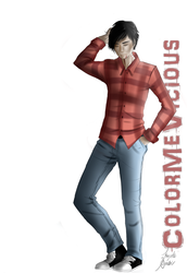 ADVENTURE TIME - Marshall Lee by ColorMeVicious