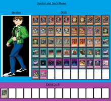 Duelist and Deck - Ben Tennyson by MarioFanProductions