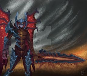 Aatrox (League of Legends) ( #Photoshop CC ) by smidacda