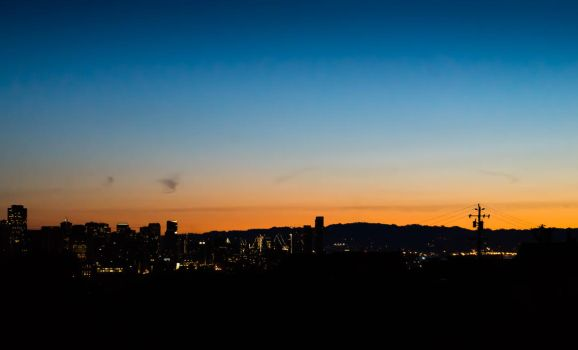 Dawn in San Francisco by Bobu77