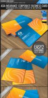 Asia insurance business card by Lemongraphic
