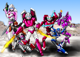 The many incarnations of Arcee by SoundBluster