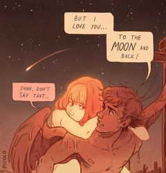 To the Moon and back by Picolo-kun