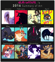2016 SUMMARY OF HELL by VCR-WOLFE