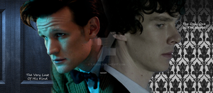 Sherlock and The Doctor by tjevo9