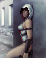 The Female Assassin by Kros2692