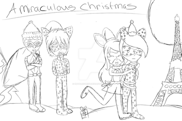 A Miraculous Christmas Sketch by NatalieGuest