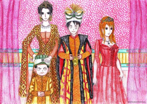 One Piece: The Pirate Sultan and his women by Ammelda-Aini