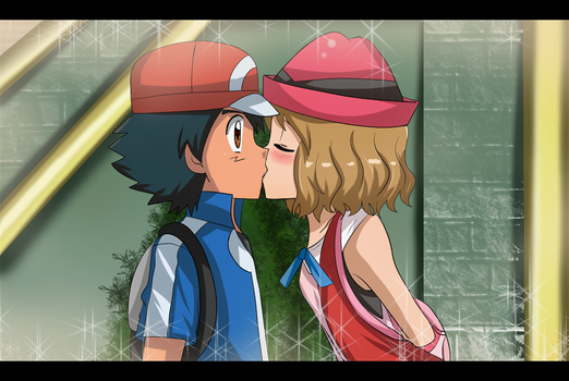 amourshipping is CANON by hikariangelove