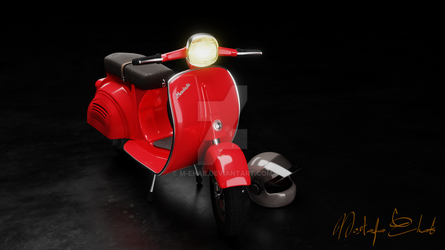 3D Scooter by M-Ehab