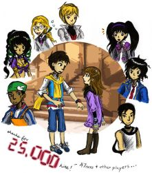 9 doors x 9 players by sweet-suzume