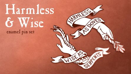 Harmless and Wise Kickstarter by CrystalCurtisArt
