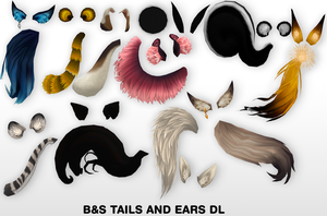 MMD Tails and Ears DL by UnluckyCandyFox