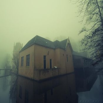 Foggy Retreat by Oer-Wout