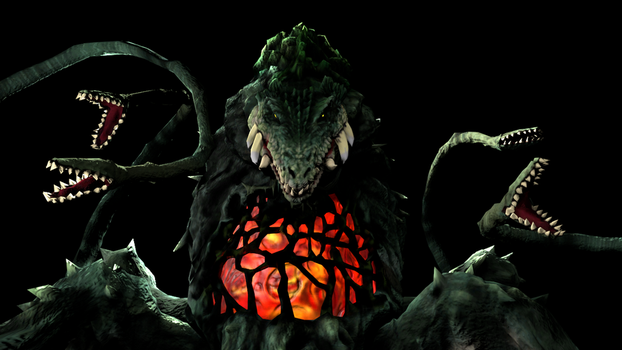 Biollante Render by NeoUltimo