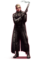 RE: Albert Wesker by AndromedaDualitas