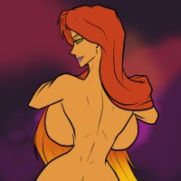 Starfire Black Friday Bare Back by joncomms