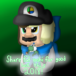 Share Fat Yoshi for Good Luck This 2018 by cjc728