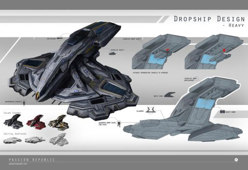 Dropships - Heavy by johnsonting