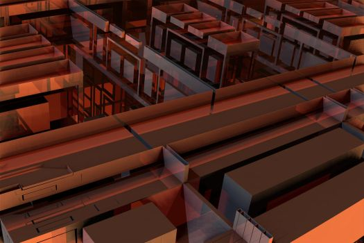 Copper Cubicles by GrahamSym