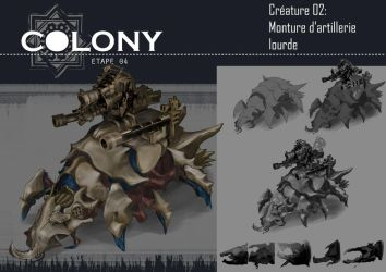 colony: heavy artillery mount by Popuche