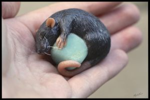 :.OOAK Rat Figurine.: by XPantherArtX