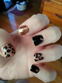 Mix Match Mani Nails by Damaged-4-Lyf