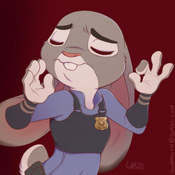 Judy Just Right by gunmouth