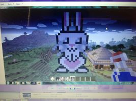 My minecraft bunny!!! by RichHoboM3