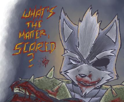 What's the matter, scared? by Gie