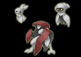 Ghost Fakemon by ecoabismo
