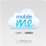 PSD: Mobile Me button styles by kevinandersson