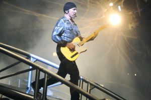 U2 in Moscow 3 - The Edge by WilliH