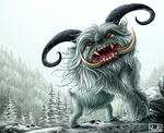 Abominable Snowman by Yseulta