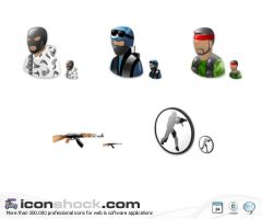 Counter Strike Vista icons WIN by Iconshock