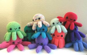 Big Octopus Pile by syppahscutecreations