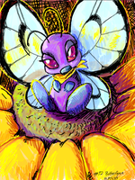 butterfree by Dandebird