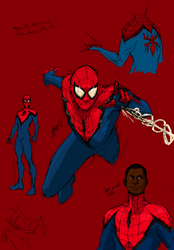 Miles Morales - The Spider-Man by kyomusha