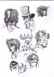 Faces of Horror, Doodle I by Remus-and-Romulus