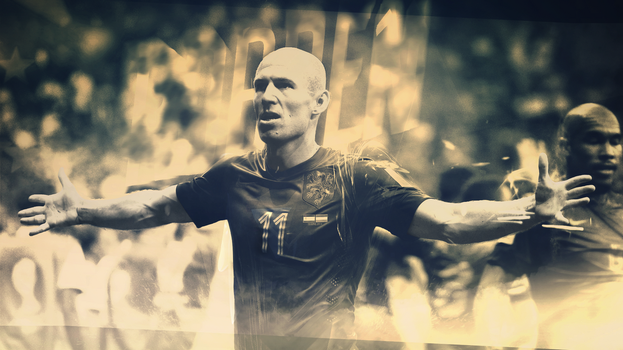 Robben Wallpaper (ft. dCreative) by MDesign25