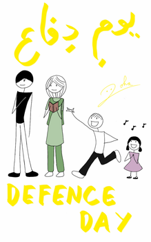 Defence day by Desert-Lilly