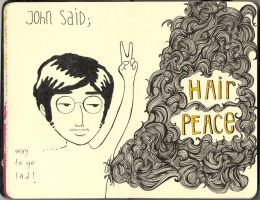 moleskine 06 - hair peace by lalycorn