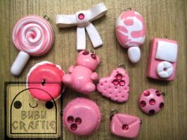 Pinky Princess Accessories by efeeha