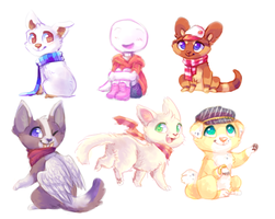 Mini Art Trades from join.me by Smushey