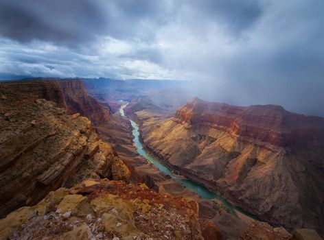 October Canyon by ColinHSillerud